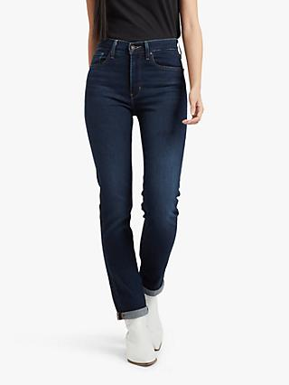 Levi's 724 High Rise Straight Jeans, London Bridge