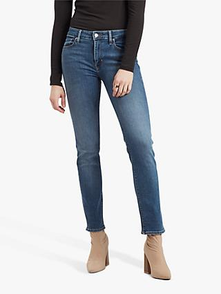 Levi's 712 Mid Rise Slim Jeans, Los Angeles Breeze