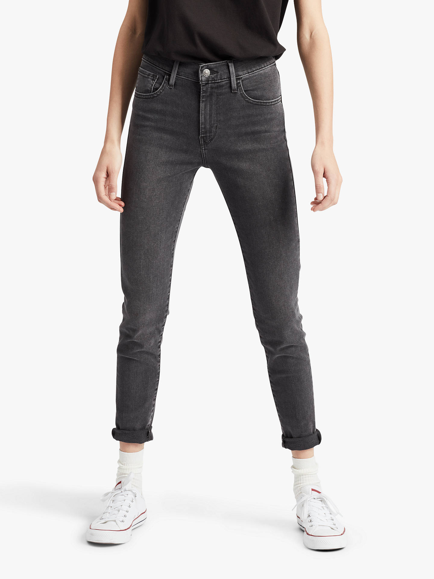 hot-selling professional fashionable patterns nice shoes Levi's 720 High Rise Super Skinny Jeans, Fingers Crossed