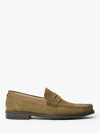John Lewis & Partners Somersall Suede Loafers