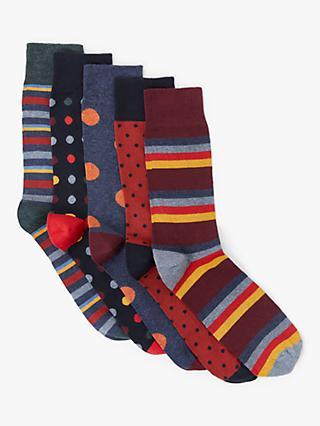 79db1d9ee Men's Socks | Happy Socks, Calvin Klein, Thomas Pink | John Lewis