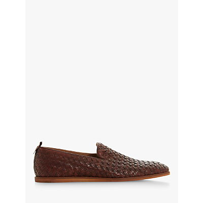Bertie Bolugo Leather Woven Loafers