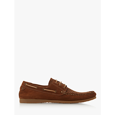 Bertie Bahamas Suede Boat Shoes, Tan