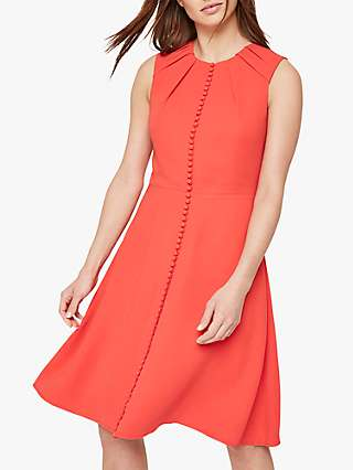 Damsel in a Dress Bella Button Detail Dress