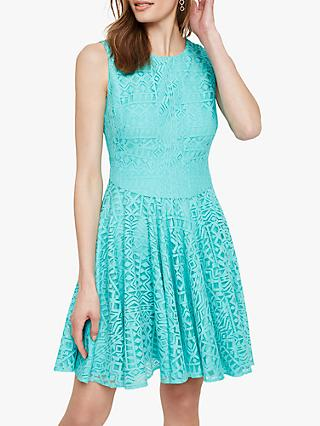 Damsel in a Dress Giorgio Lace Dress, Green