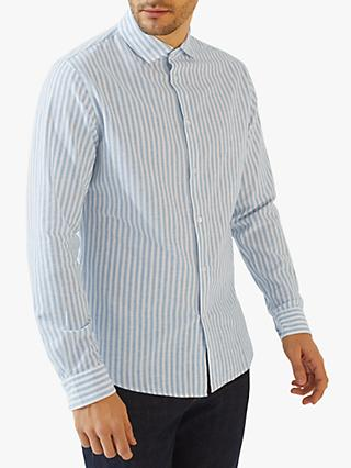 531620530b4 Jigsaw Butcher Stripe Long Sleeve Shirt