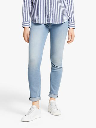 Lee Elly High Waist Slim Jeans, Light Rugged