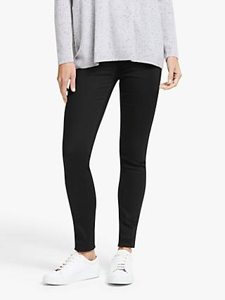 Lee Ivy Super High Waist Skinny Jeans, Black Rinse