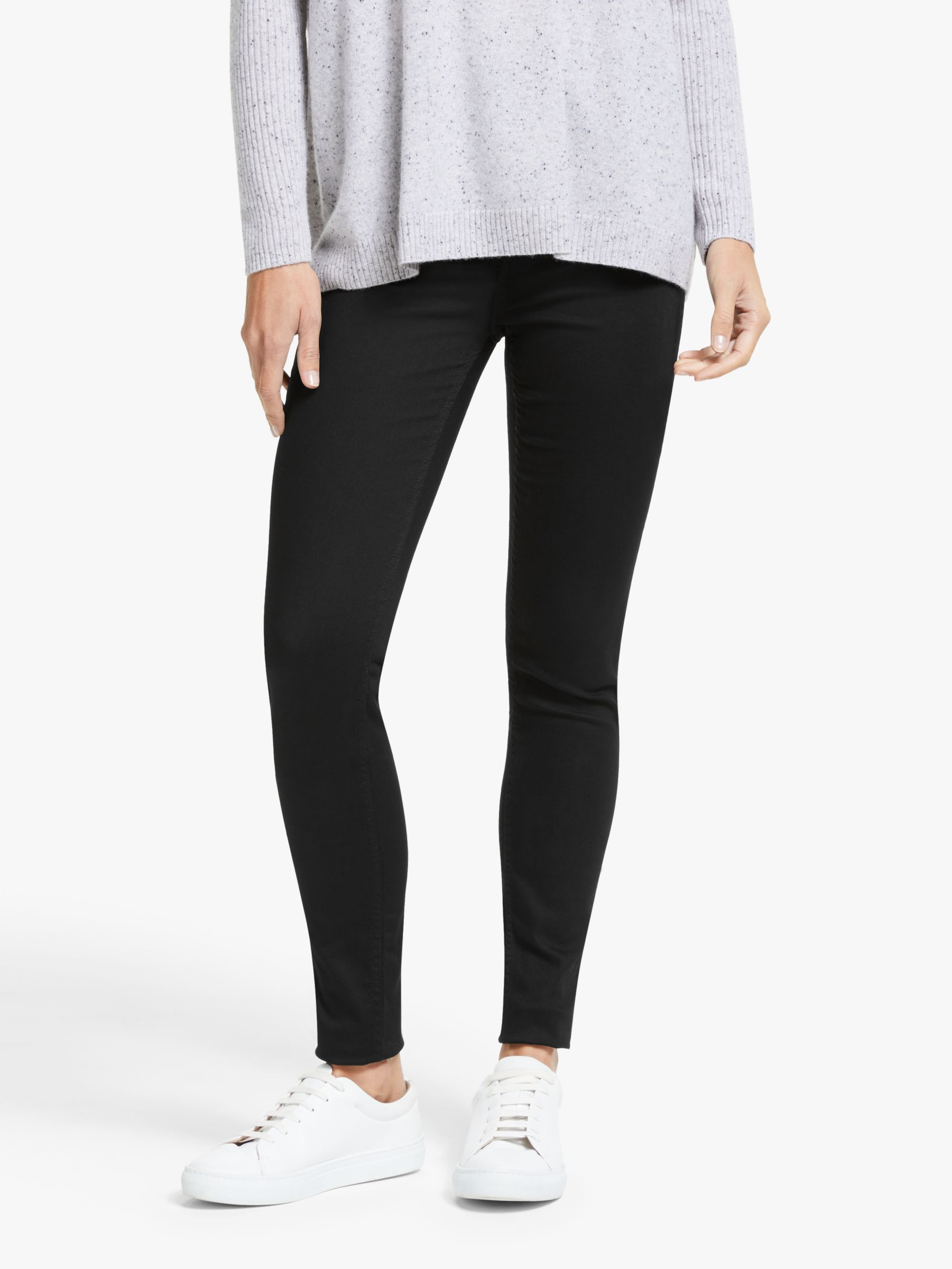 Lee Lee Ivy High Waist Super Skinny Jeans, Black Rinse