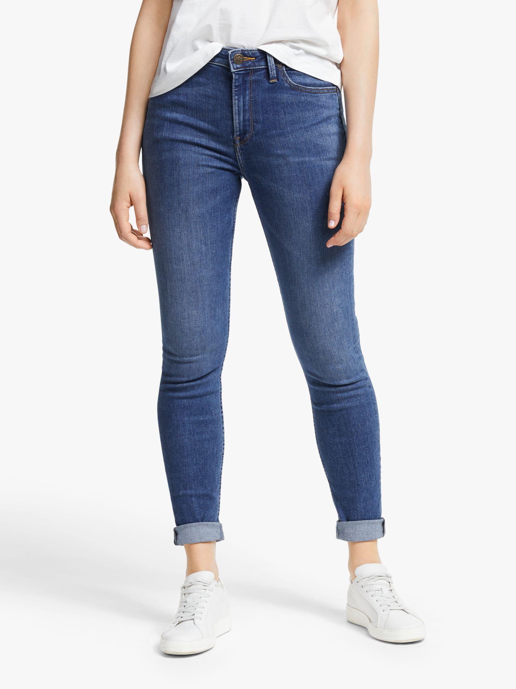 Lee Lee Scarlett High Waist Skinny Jeans, Mid Copan
