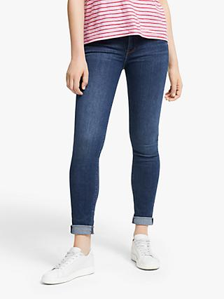 Lee Scarlett Regular Waist Skinny Jeans, Dark Ulrich