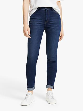 Lee Ivy High Waist Skinny Jeans, Dark Wardell