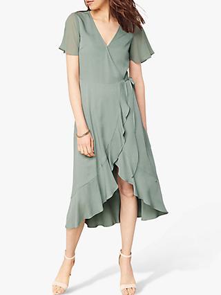 401bfcc5186 Oasis Chiffon Wrap Dress
