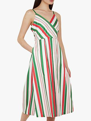 d9ea4f5db5e Ted Baker Noriie Tutti Frutti Stripe Dress, White