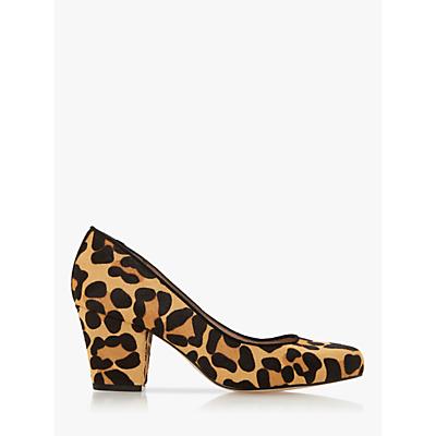Dune Anthena Block Heel Court Shoes