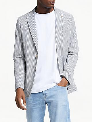 Scotch & Soda Chic Unconstructed Blazer, Blue