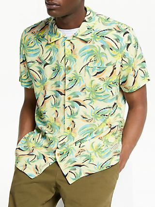 Scotch & Soda Hawaiian Print Shirt, Green