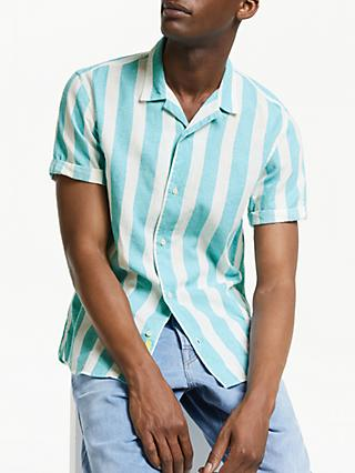 Scotch & Soda Candy Stripe Shirt, Blue