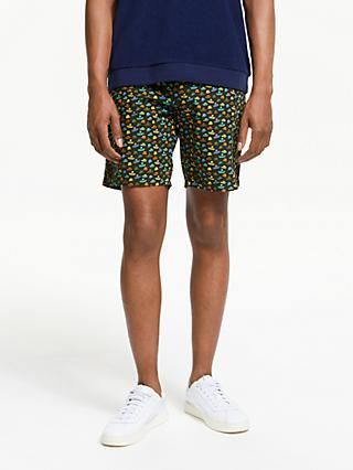 Scotch & Soda Printed Classic Chino Shorts