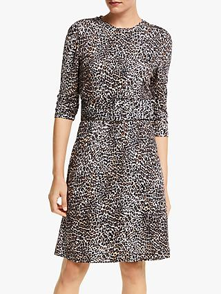 Marella Alfredo Leopard Print Dress, Brown