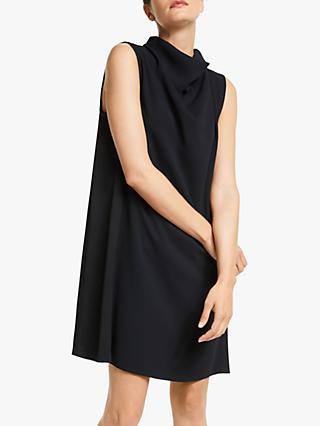 Marella Good Cowl Neck Dress, Navy