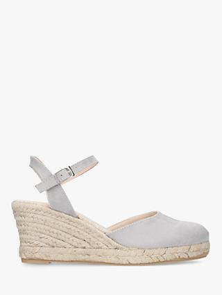 Carvela Sabrina 2 Wedge Heel Sandals, Grey