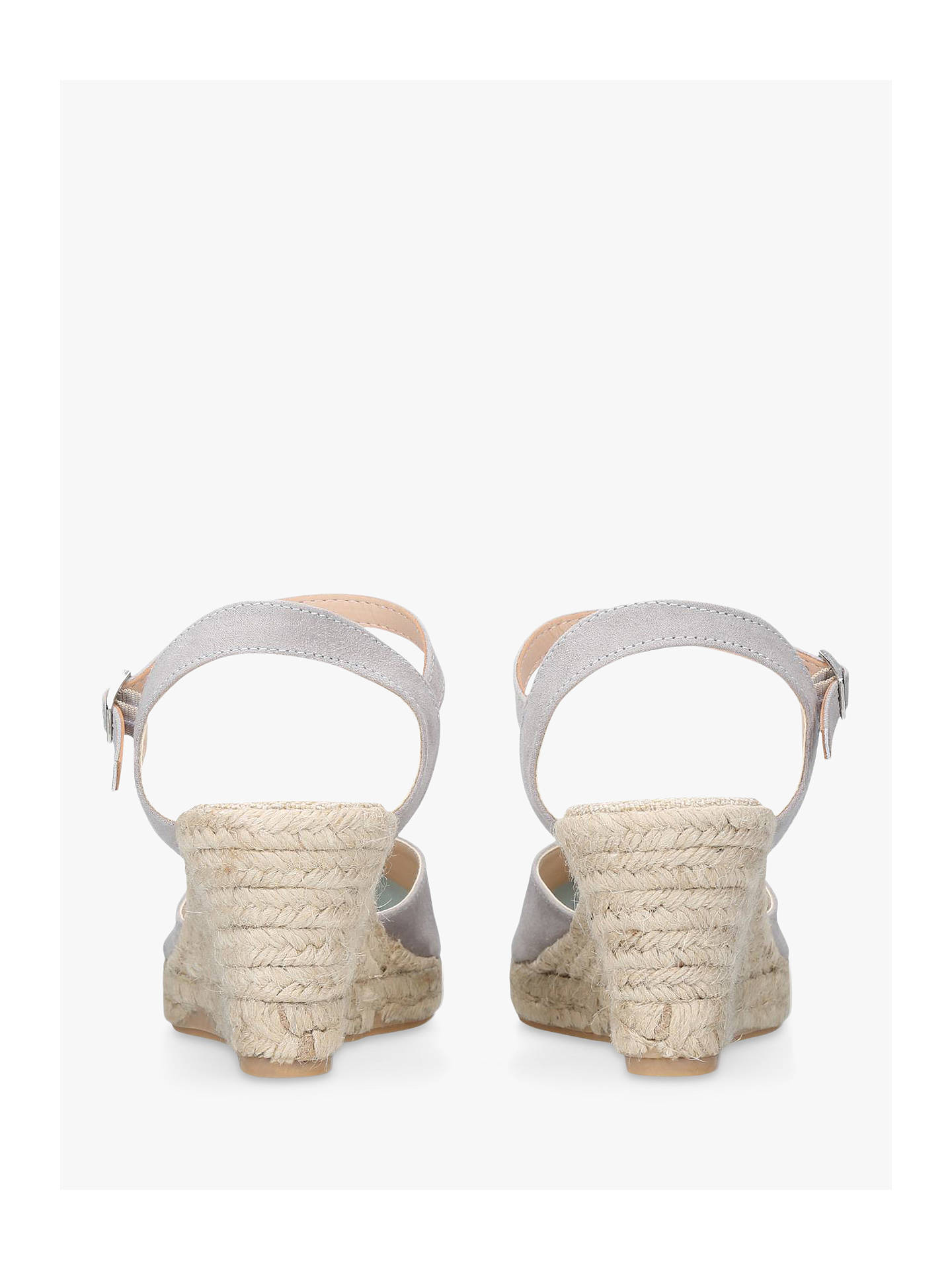 84364ed8b31 Carvela Sabrina 2 Wedge Heel Sandals, Grey