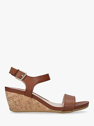 Carvela Sparkle Wedge Heel Sandals