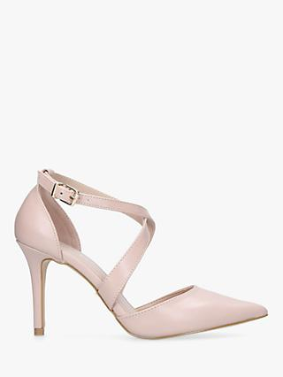 Carvela Kross 2 Stiletto Heeled Court Shoes, Nude