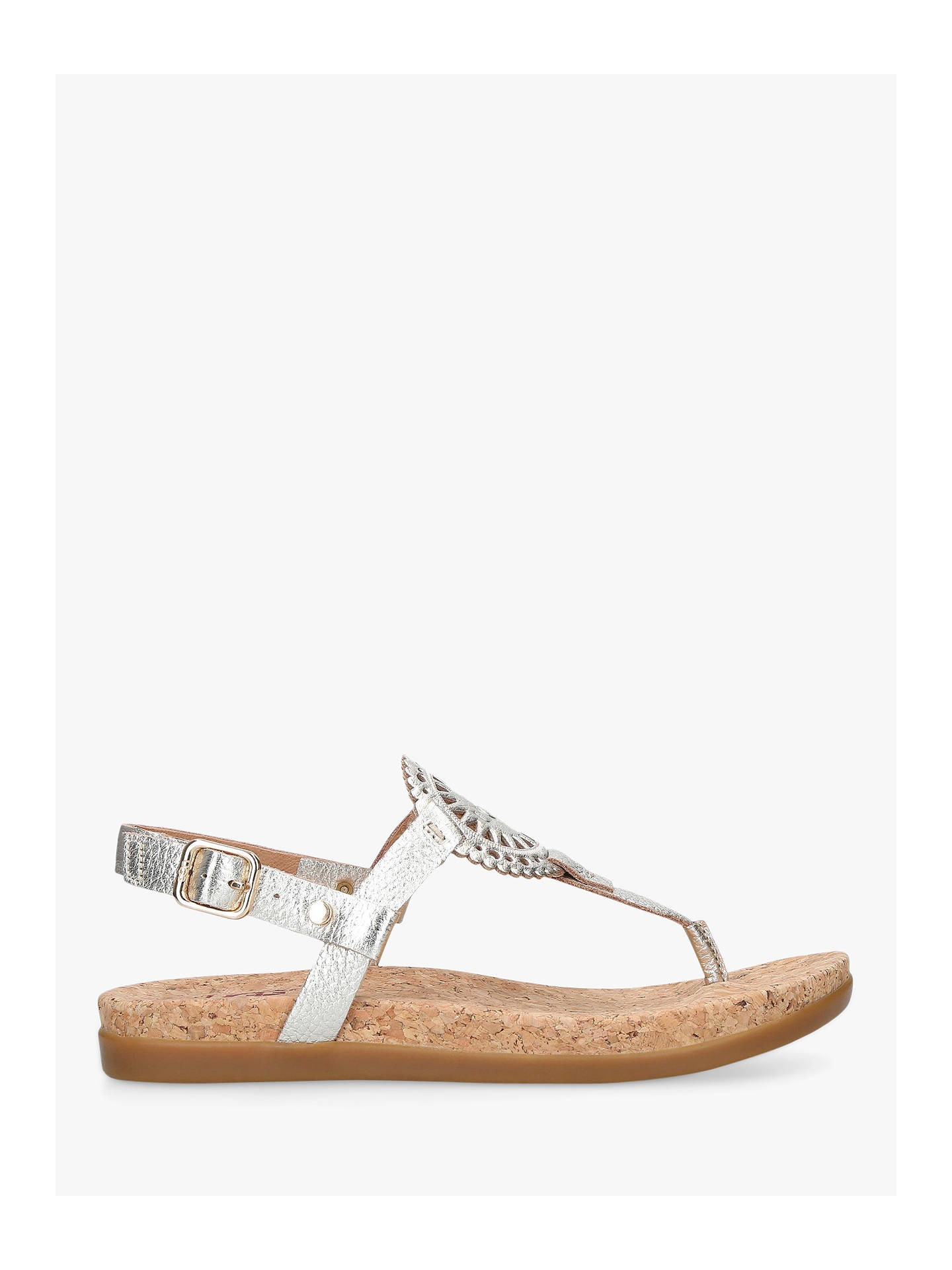 48881c8c236 UGG Ayden II Sandals, Gold Leather at John Lewis & Partners