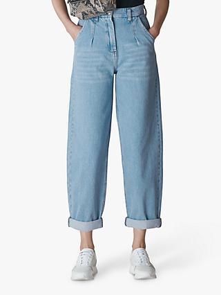 168957dafdac Whistles Daniella Pleat Front Boyfriend Jeans