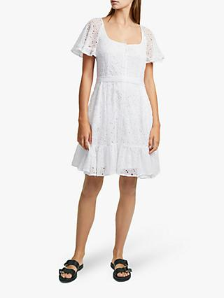 French Connection Circeela Dress, Summer White