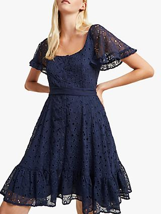 French Connection Circeela Dress, Indigo