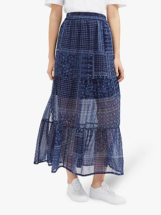 a444296c3aa2d1 French Connection Anthemis Folk Skirt