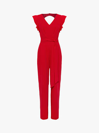Buy Phase Eight Victoria Jumpsuit, Poppy, 6 Online at johnlewis.com