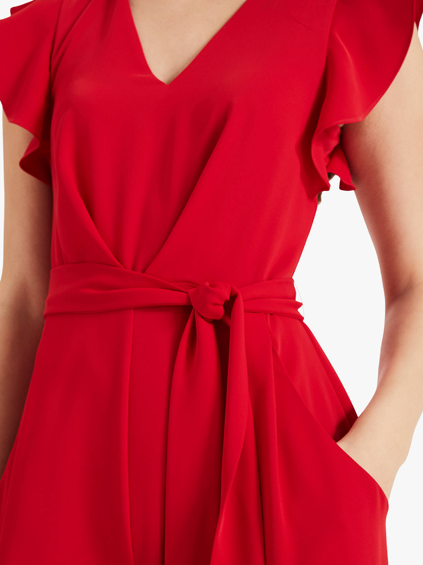 Buy Phase Eight Victoria Jumpsuit, Poppy, 10 Online at johnlewis.com