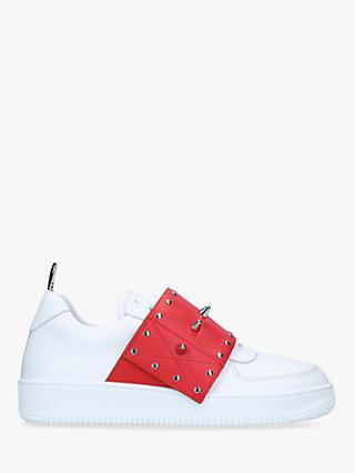 RED Valentino Stud Trainers, White