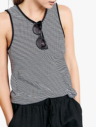 0ed9993a987e70 hush Stripe Panel Tank Top