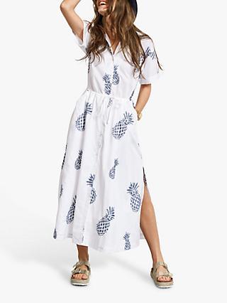 eeaf4f0544 hush Judi Pineapple Shirt Dress