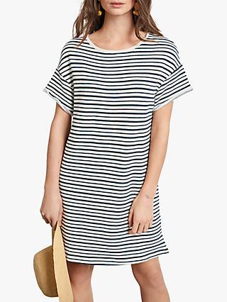 26b0db4bed hush French Stripe T-Shirt Dress
