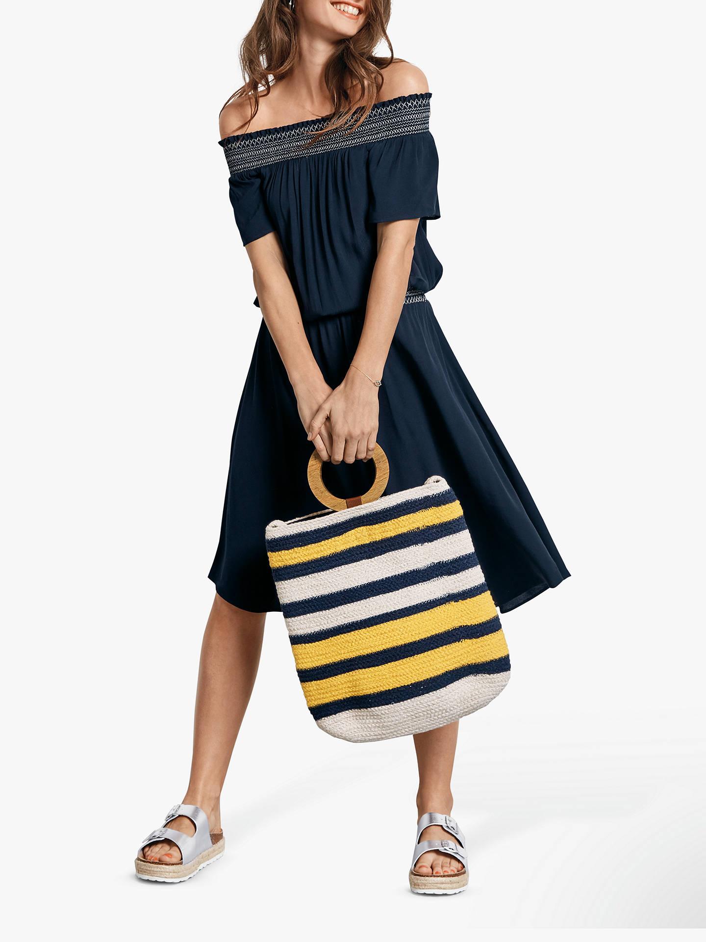 5b9620cff9e2 Buy hush Shirred Off Shoulder Dress