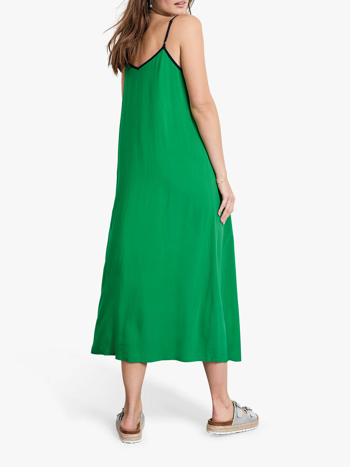 ca622236 Buy hush Bay Midi Dress, Jolly Green/Midnight, 6 Online at johnlewis.