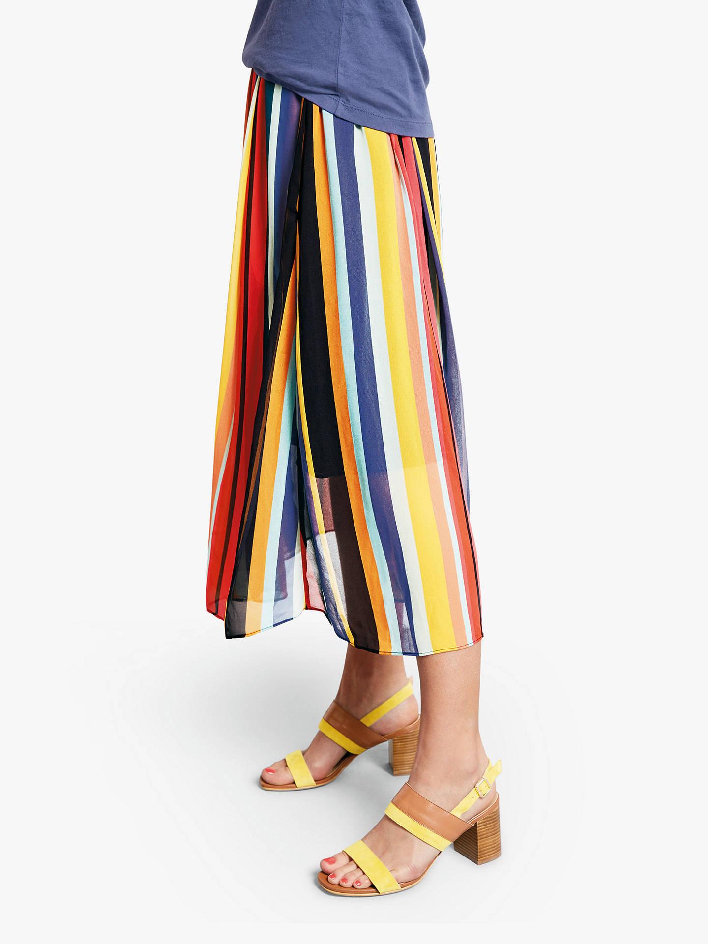 3bd580aca Buy hush Marina Stripe Skirt, Multi, 6 Online at johnlewis.com ...