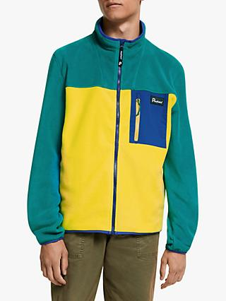 Penfield Full Zip Men's Fleece Top, Teal