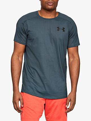 Under Armour MK-1 Short Sleeve Embossed Training Top