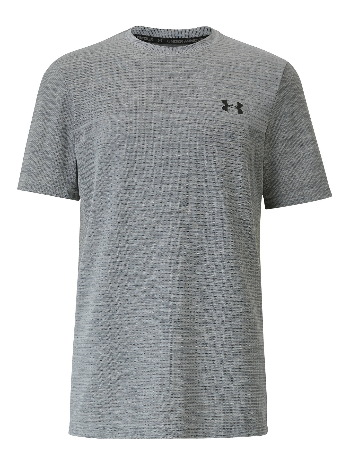 Buy Under Armour Seamless Training Top, Halo Grey/Black, S Online at johnlewis.com