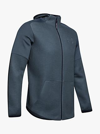 Under Armour Unstoppable Move Light Full Zip Training Hoodie, Wire Full Heather