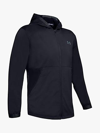 Under Armour Vanish Woven Training Jacket, Black/Pitch Grey