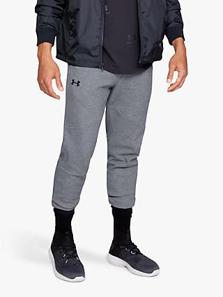Under Armour Unstoppable Double Knit Joggers, Steel/Black