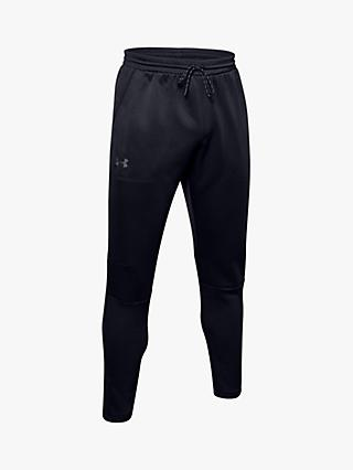 Under Armour MK1 Warm Up Running Pants, Black/Pitch Grey